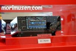 画像3: 最安値挑戦中!ご予約受付中【新品】アイコム IC-7610(100W)/ IC-7610M(50W)  HF+50MHz (SSB/CW/RTTY/PSK31・63/AM/FM) トランシーバー ICOM