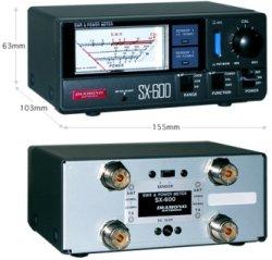 画像3: 【新品 即納】SX-600(SX600)  1.8〜525MHz DIAMOND / 第一電波工業株式会社 SWR&POWER計 下取り販売開始★最安値でゲットするチャンス到来!