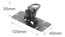 画像2: 【新品/即納】HRK 貼付用基台 ※強力両面テープ使用 DIAMOND ダイヤモンド / 第一電波工業株式会社