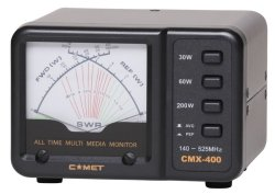 画像2: 【新品/即納】コメット CMX-400 SWR&パワーメーター 140MHz〜525MHz